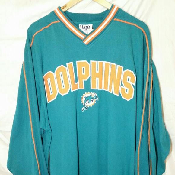 8a92b54d Vintage Lee Sport NFL Miami Dolphins Sweatshirt